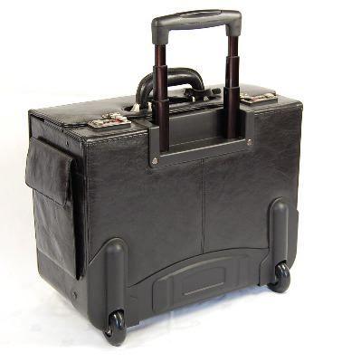laptop pilot case trolley 92772 leather pilot cases tassia ltd. Black Bedroom Furniture Sets. Home Design Ideas